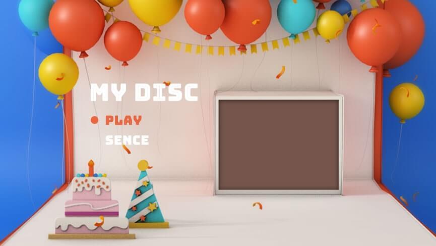 Baby DVD menu
