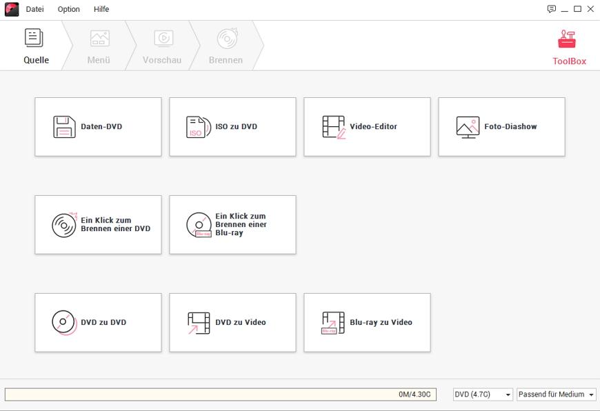 DVD Creator Toolbox