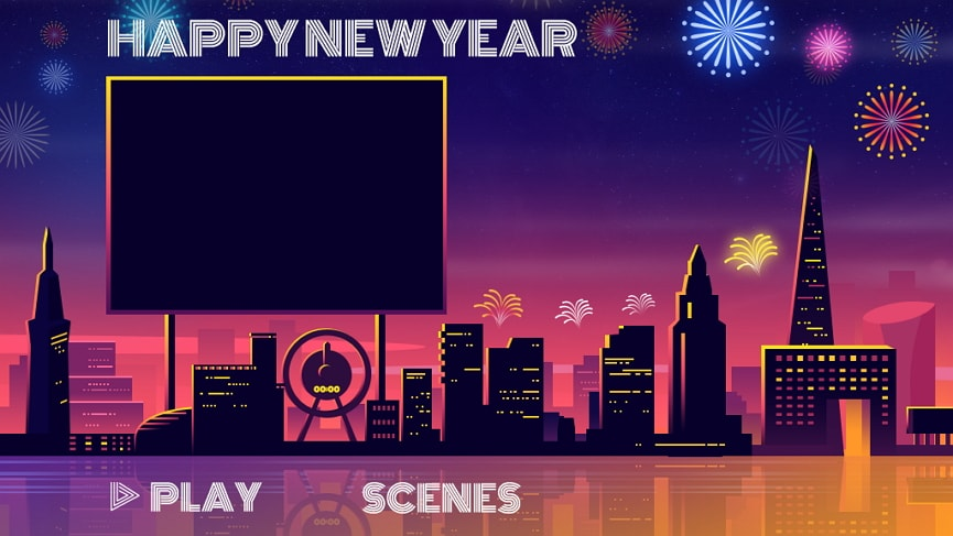 New Year Template