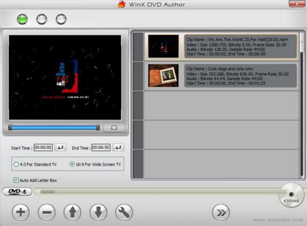 Best CD Burner for PC - WinX DVD Author