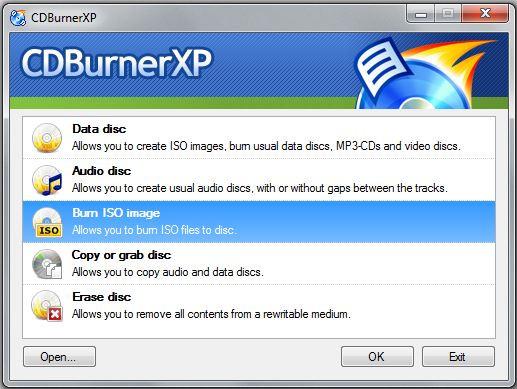 Best CD Burner Programs in 2018 - CDBurnerXP
