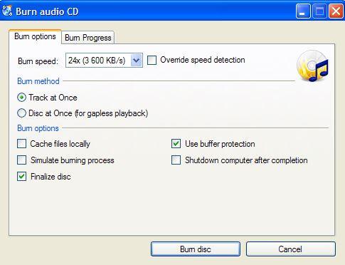 Best CD Burning Software for PC - CDBurnerXP