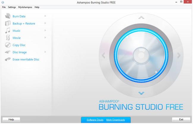 Best CD Writer Software for Windows 7 - Ashampoo Burning Studio