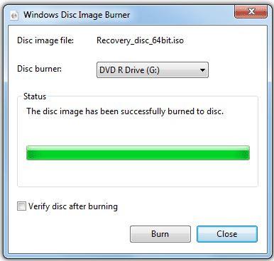 Best ISO CD Burners - Windows 7 Built-in ISO Burner