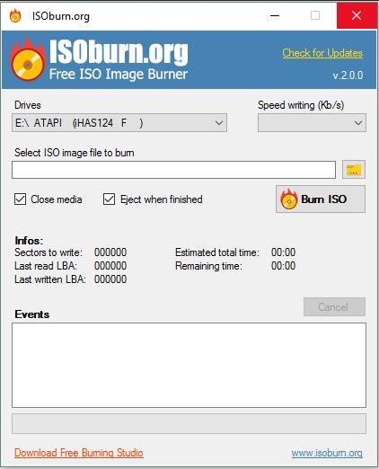 Best ISO CD Burners - ISOBurn
