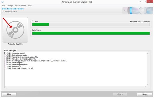 Best Open-Source CD Burner - Ashampoo® Burning Studio