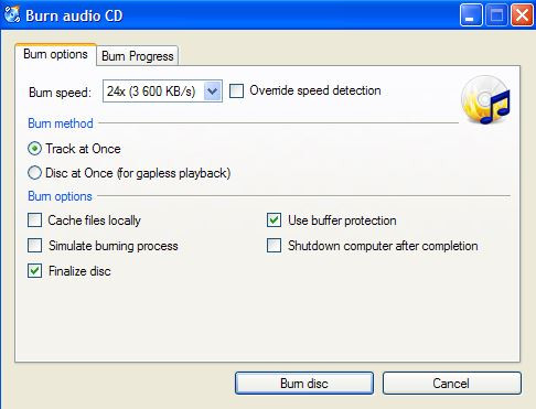 Best Virtual CD Burner Programs - CDBurnerXP