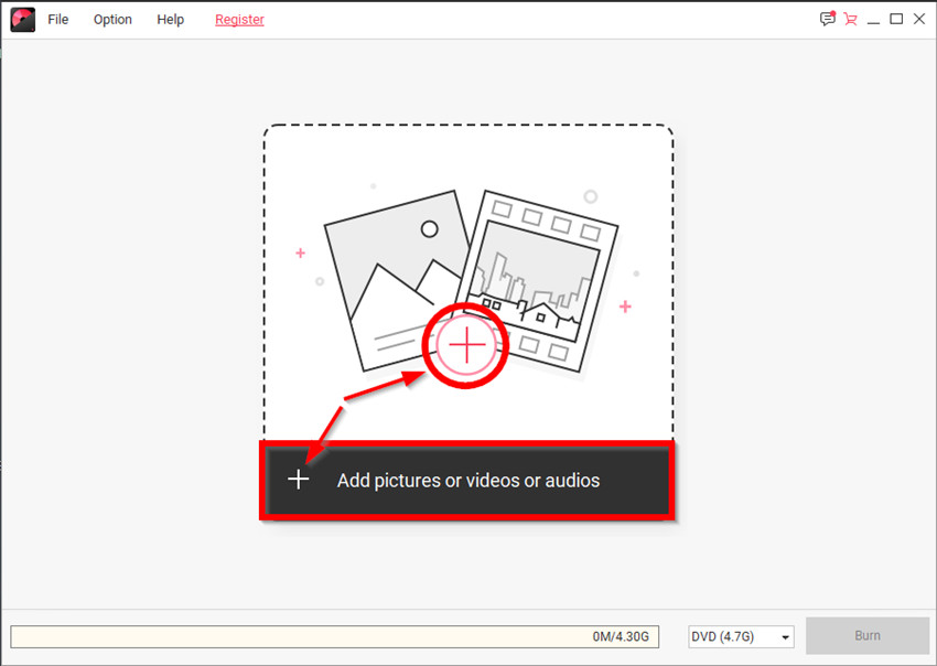 How to Burn Music to CD - Add Pictures or Videos