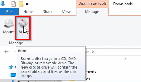 Burn Files to CD on Windows 8 - Start Burning CD
