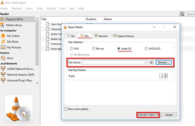 Burn CD with Windows Media Player - Burn Files to CD