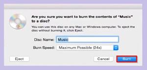 How to Burn Music to CD - Start Burning Data CD