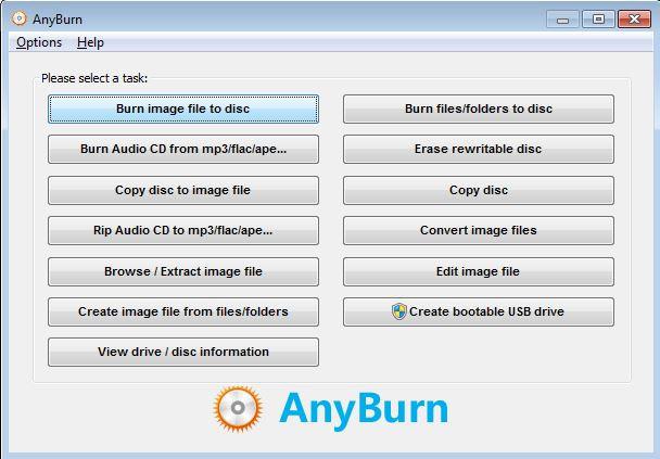 Burn SD Card to CD for Backup - AnyBurn
