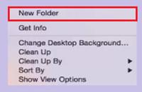 How to Burn WAV to CD - Create a New Folder