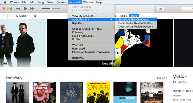 Why Can't I Find iTunes CD Burner - Check Whether the Songs Can be Played