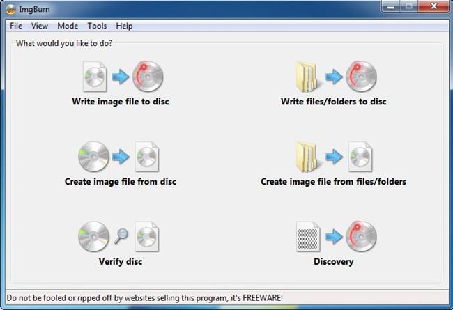 Top CD Burners for Windows 10 - ImgBurn