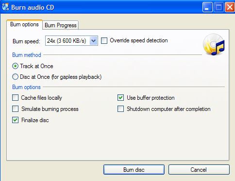 Top CD Burners for Windows 10 - CDBurnerXP