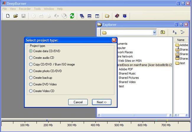 Top CD Burners for Windows 8 - DeepBurner