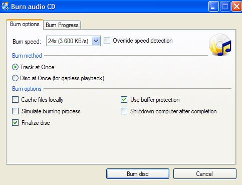 Top CD Burners for Windows 8 - CDBurnerXP