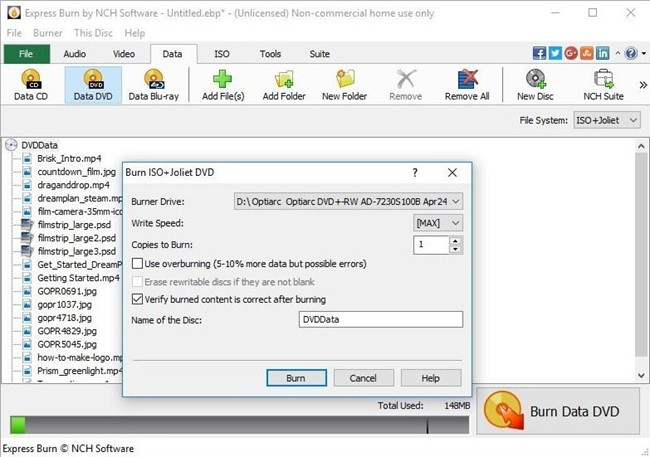 Top CD Burners for Windows 8 - Express Burn Free CD Burning Software