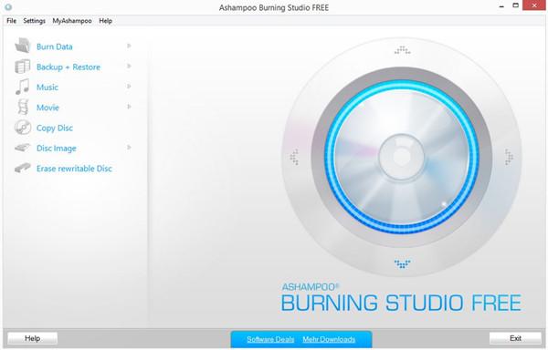 Best CD & DVD Burner in Market - Ashampoo Burning Studio