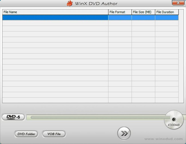 Best DVD & CD Burning Software - WinX DVD Author