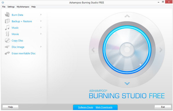 Fast CD Burner - Ashampoo Burning Studio