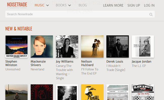 Free Music Sites to Burn CD - NoiseTrade