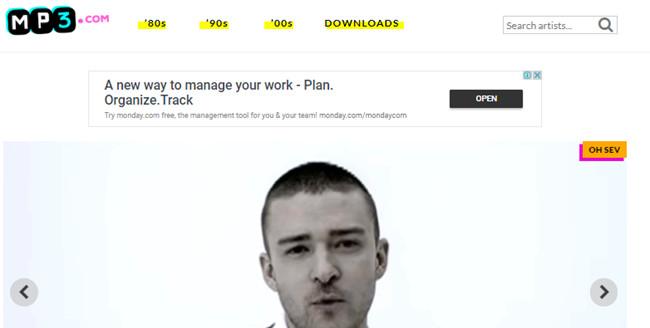 Free Music Sites to Burn CD - MP3.com