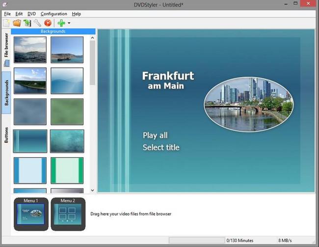 Most Helpful CD Burners for Mac - DVD Styler