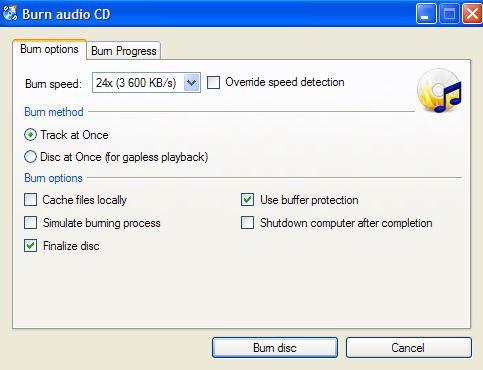 Most Helpful Free CD Burner - CDBurnerXP