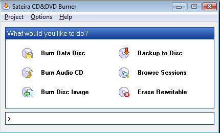 Is Real Player Equipped with CD Burner - Sateira CD & DVD Burner
