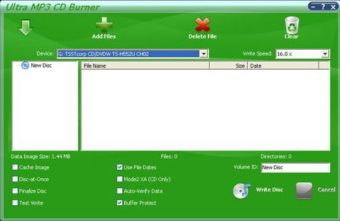 Top Programs to Burn Music to CD - Ultra MP3 to CD Burner