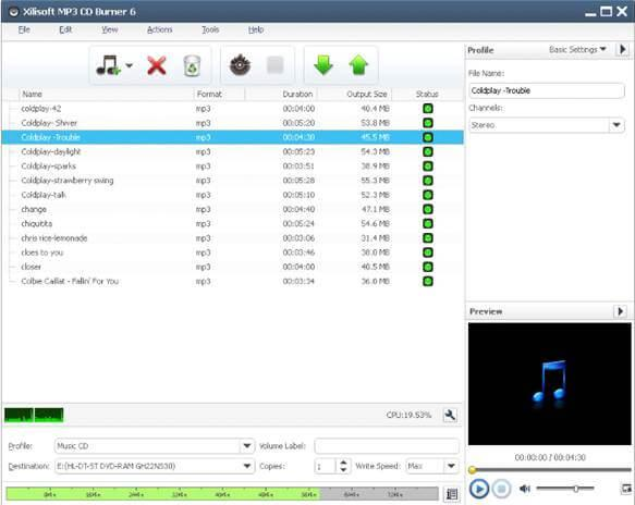 TOP 10 Best CD Makers-Xilisoft MP3 CD Burner