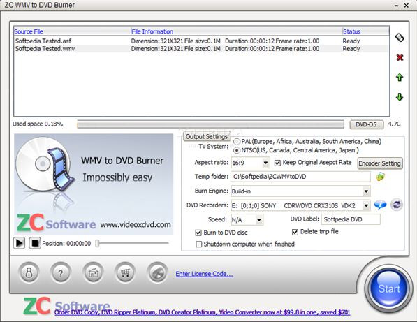 Use Windows Media Player to Burn CD on Computer - Apollo WMV/ASF/ASX to DVD Burner