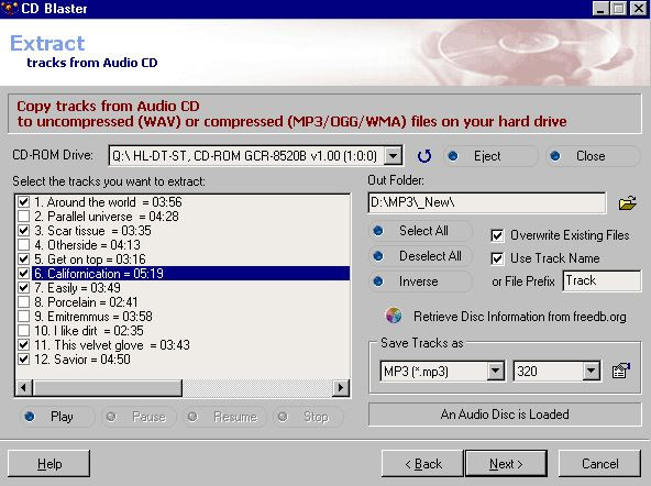 Use Windows Media Player to Burn CD on Computer - ABF CD Blaster