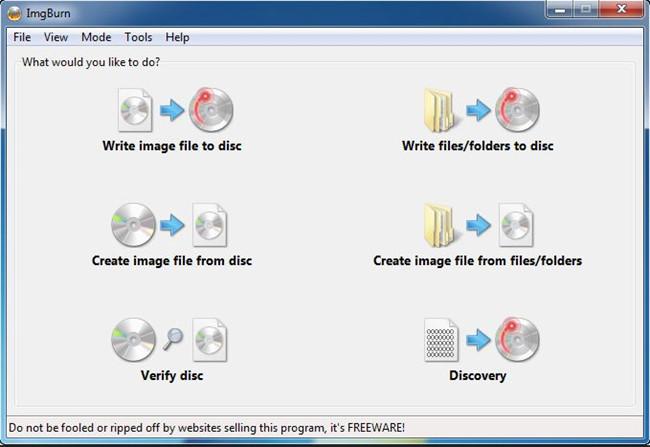 Top Windows XP CD Burner - ImgBurn