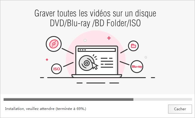 installer wondershare dvd creator
