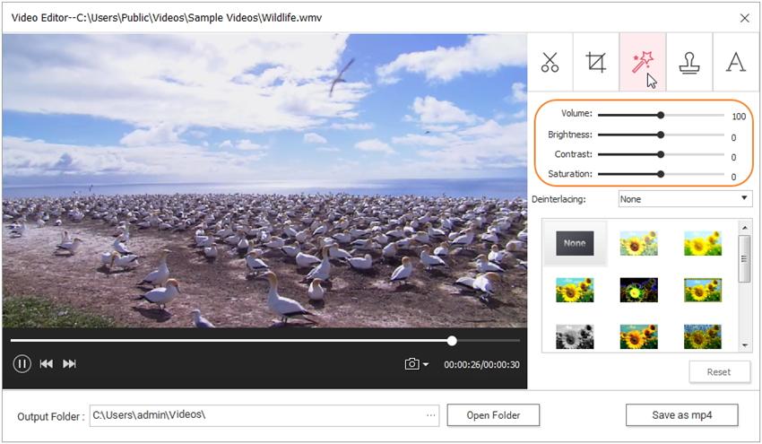 enhance video