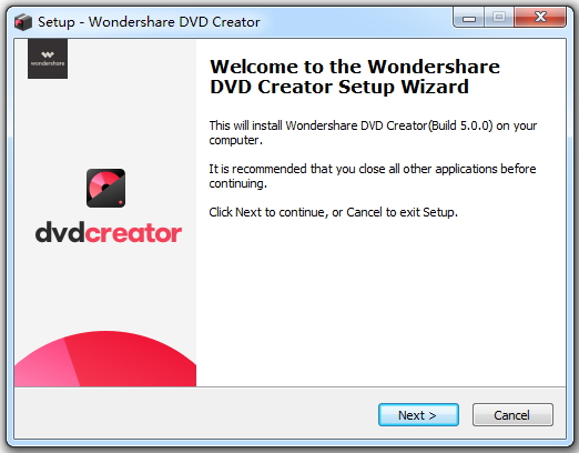 criador de dvd wondershare