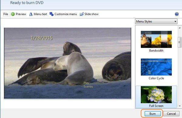 grabar video WMV a DVD