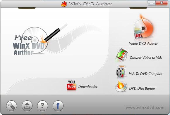 convertisseur gratuit WMV en DVD WinX DVD Author