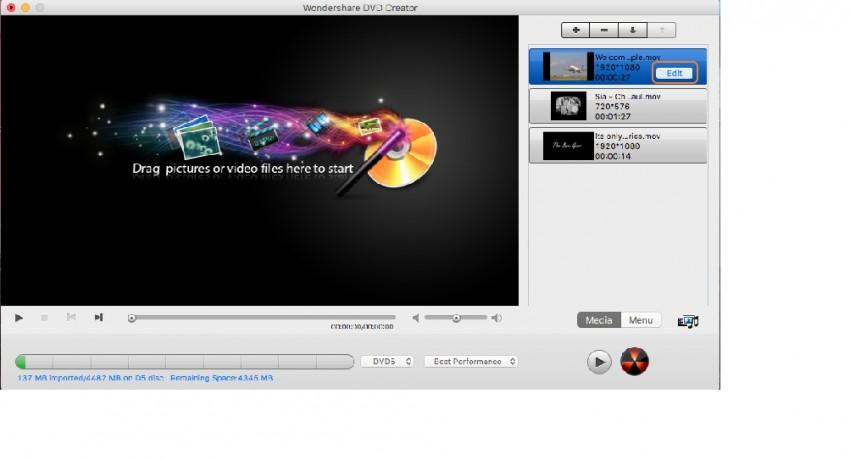 Edit MOV videos