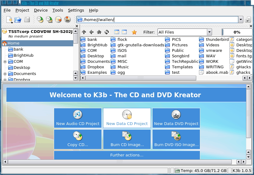 Transfer Film to DVD on Linux