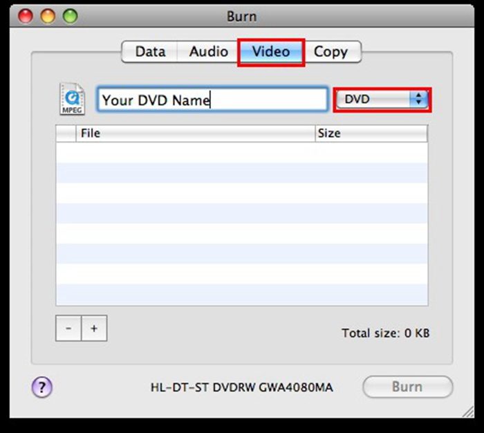 free dvd burner for mac