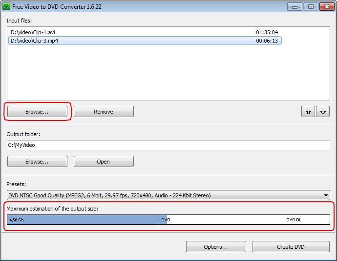 DVDVideoSoft Convertisseur gratuit de vidéo en DVD