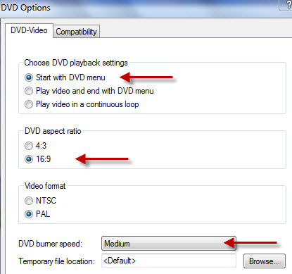DVD mit Windows DVD Maker brennen