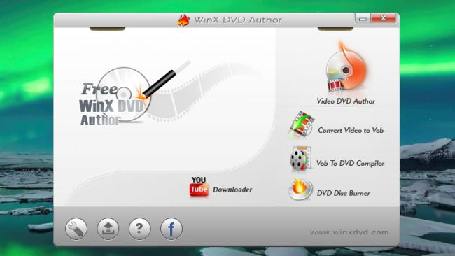 Free DVD burner WinX DVD Author
