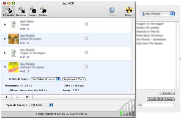 liquideCD DVD menu creator