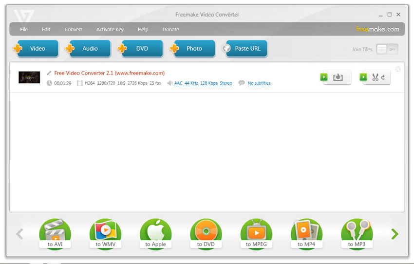 mkv to dvd free with Freemaker