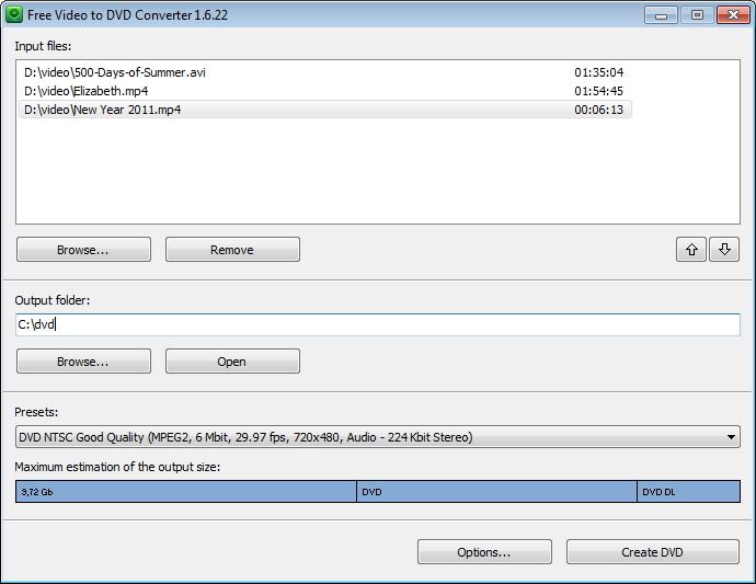 kostenloser dvd Dateikonverter